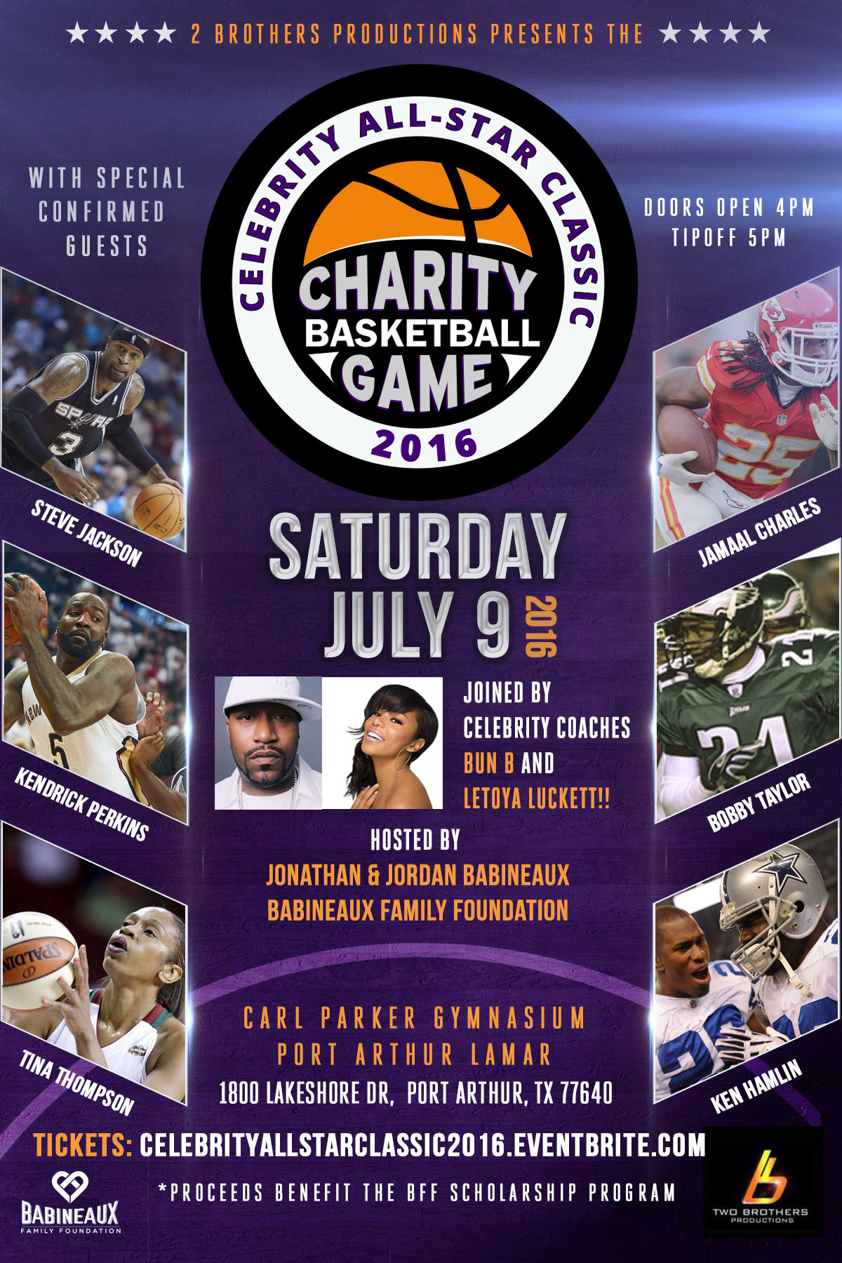 All-Star Charity Basketball Game 2016