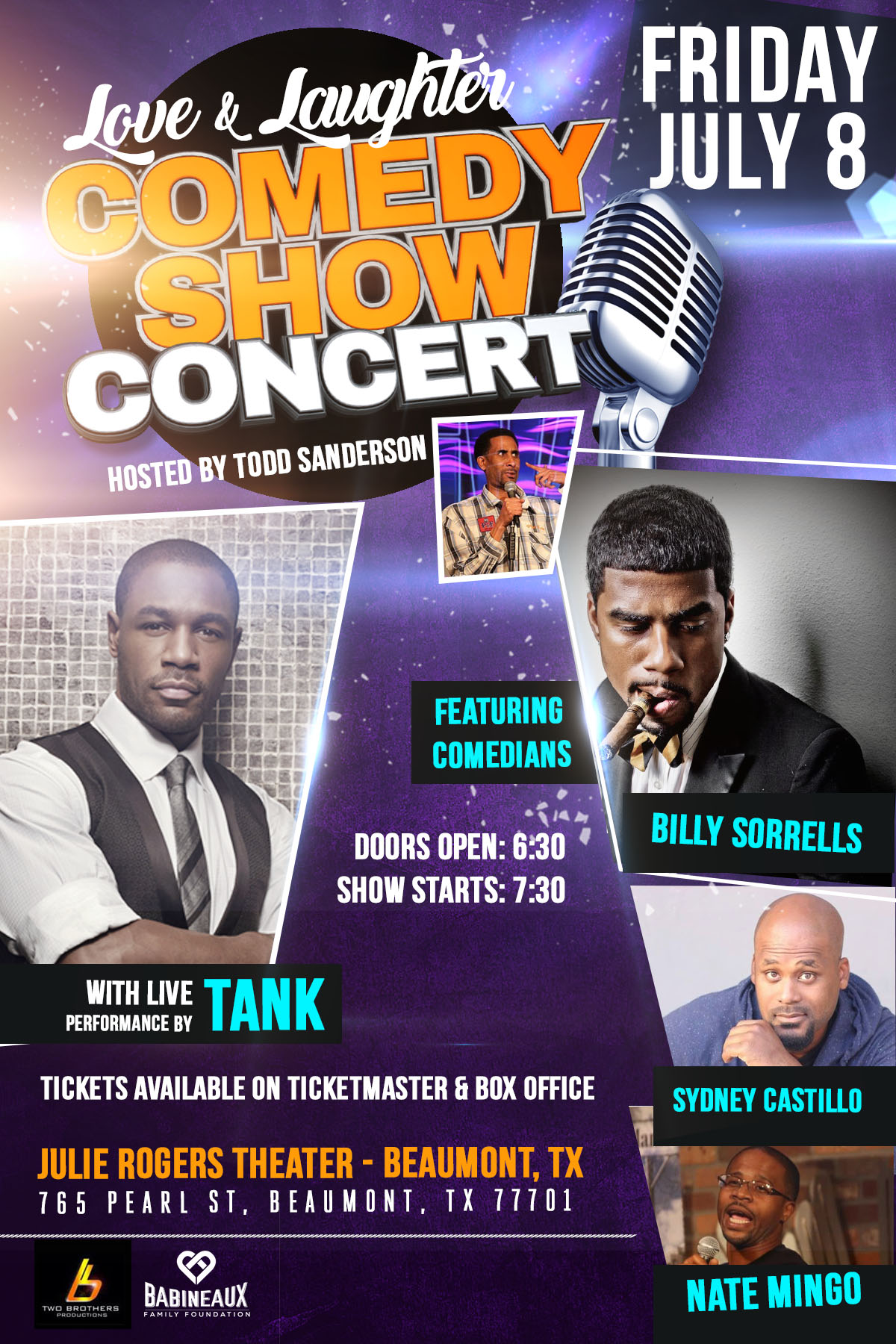 Love & Laughter Comedy Show Concert